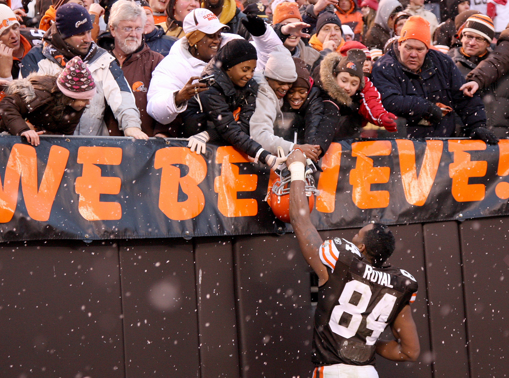 Browns fans...still the best