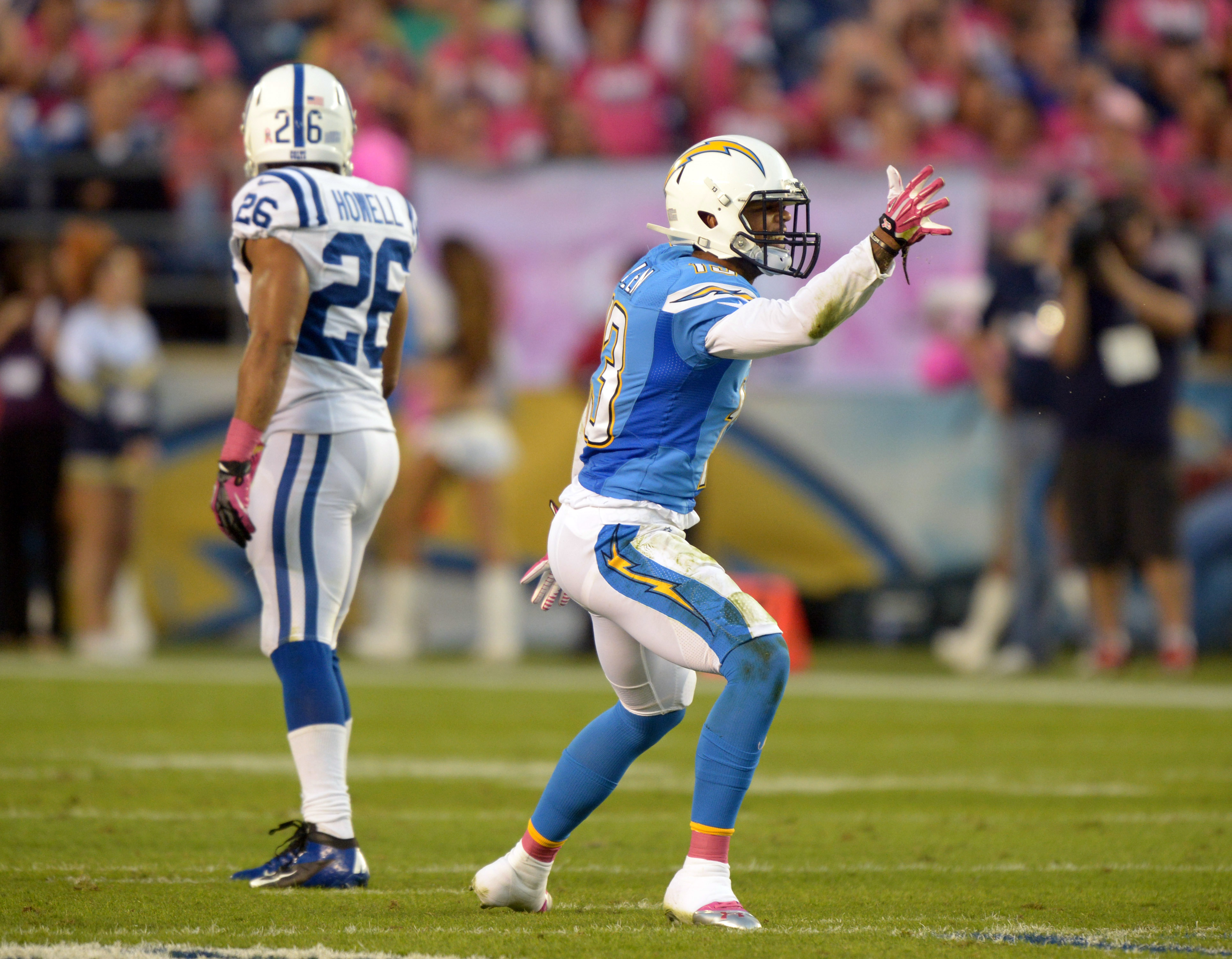 NFL: Indianapolis Colts at San Diego Chargers